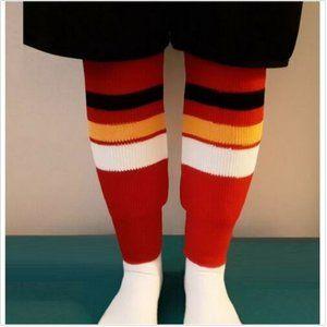 NOS ADULT L NHL ICE HOCKEY HOSE SOCKS CALGARY
